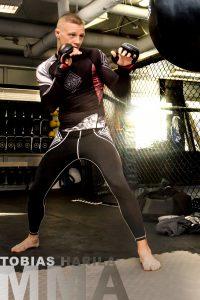 Tobias Harila MMA Västerås foto Jannica Figur
