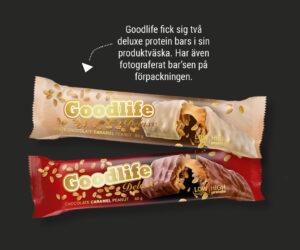 Goodlife deluxe_Protein bars - Design Jannica Figur
