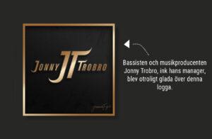 Logga Jonny Trobro - Design Jannica Figur