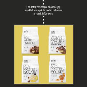 Star nutrition vita serie smakbilder - Jannica Figur